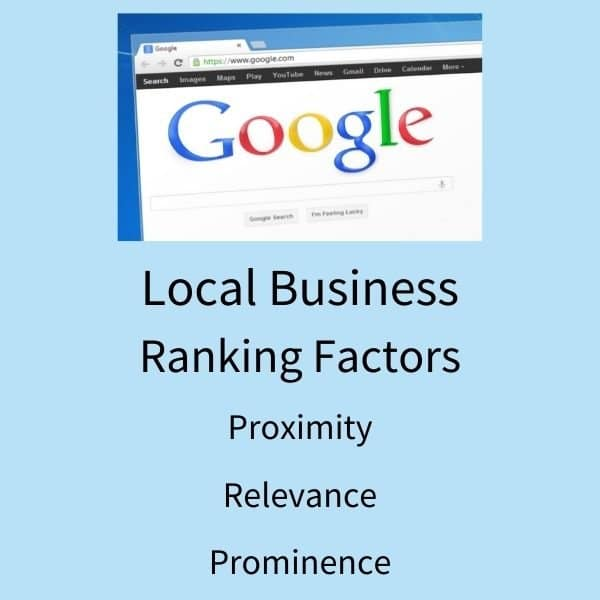 local business ranking factors